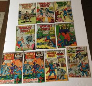 Worlds Finest 140 143 144 152 157 158 162 X2 163 179 Very Good Vg Or Better