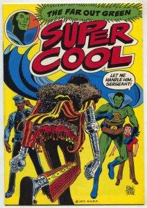 Super Cool #2 1972-Rare Juvenile delinquency comic VF+