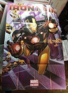 IRON MAN Promo Poster, 24 x 36, 2012 3' X 2' FEET MARVEL NOW NEW