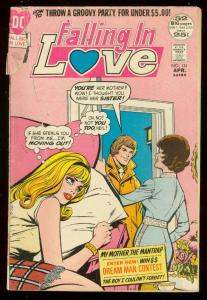 FALLING IN LOVE #131 1972-DC ROMANCE COMICS-GIANT ISSUE FR/G