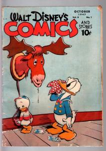 WALT DISNEY'S COMICS AND STORIES #85-1947-DONALD DUCK-MICKEY MOUSE-C BARKS-G G