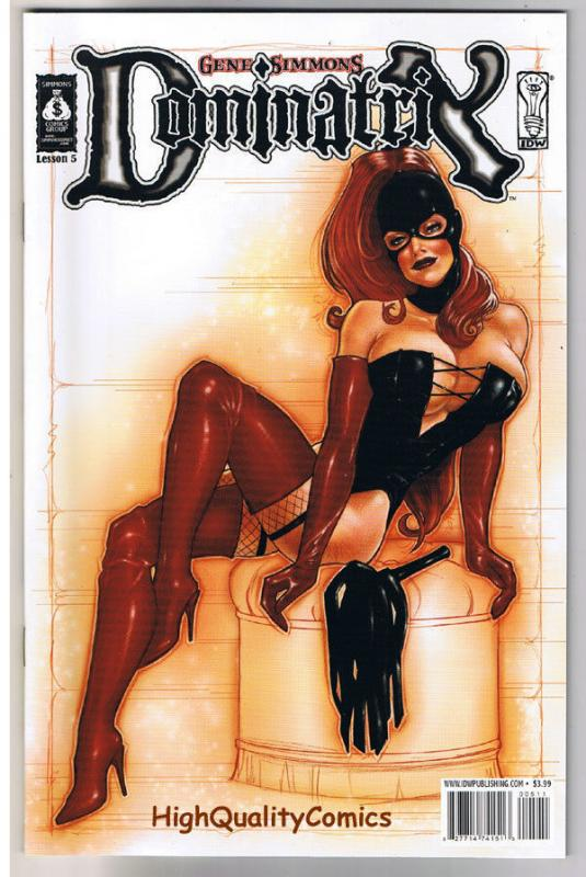 DOMINATRIX #5, NM, Gene Simmons, Femme Fatale, 2007, more in store