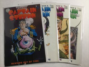 Captain Sternn 1-5 1 2 3 4 5 Lot Nm- Near Mint- 9.2 Kitchen Sink Comics