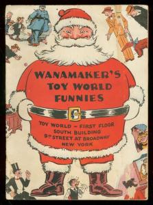 WANAMAKER'S TOY WORLD FUNNIES-1933-FUNNIES ON PARADE