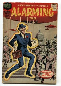 Alarming Tales #6 1958- UFO U.S. capitol cover
