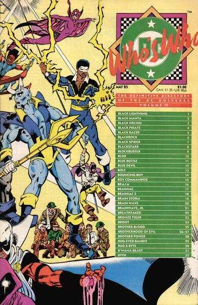 Who's Who: The Definitive Directory of the DC Universe #3, Fine- (Stock ...