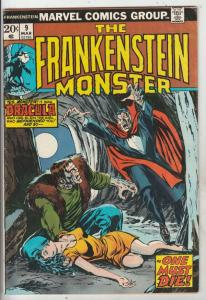 Frankenstein, the Monster of #9 (Mar-74) FN+ Mid-High-Grade Frankenstein