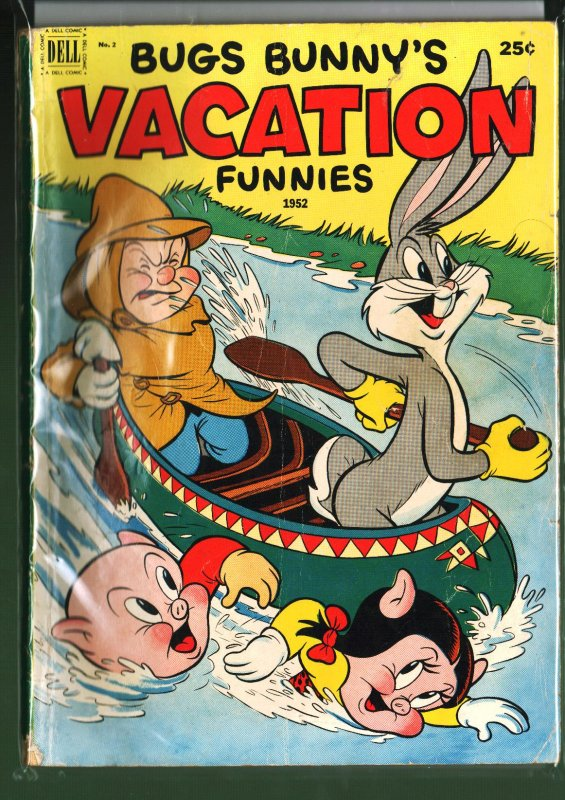 Bugs Bunny's Vacation Funnies #2 (1952)