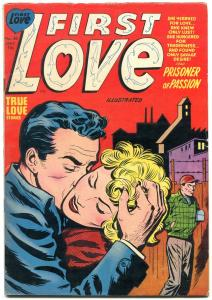 First Love #40 1954- Harvey Romance Golden Age-Prisoner of Passion FN