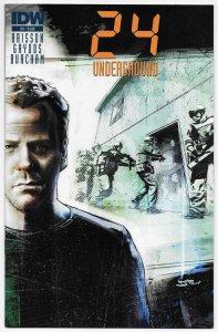 24 Underground #3 Jack Bauer Photo Variant (IDW, 2014) FN/VF