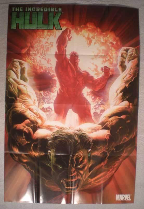 INCREDIBLE HULK Promo Poster, 24x36, 2009 ,Unused, more Promos in store