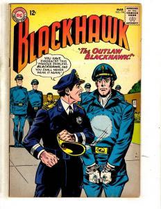 Blackhawk # 194 FN DC Silver Age Comic Book War Air Force Army Navy JL2