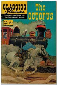 CLASSICS ILLUSTRATED 159 VG-F Nov. 1960 HRN 159 COMICS BOOK