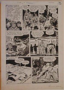 MIKE SEKOWSKY / AL RUBANO, original art, THIS IS WAR #8, pgs 1-7,Full story,1953