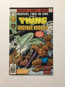 Marvel Two-In-One 41 Nm Near Mint
