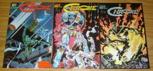 Chrome #1-3 VF/NM complete series - early work by kelley jones from 1986 set 2