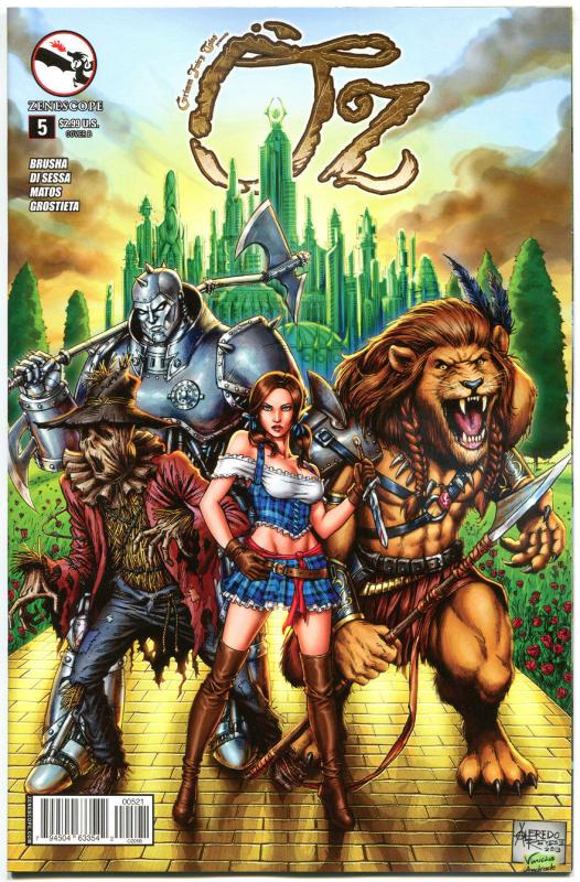 GRIMM FAIRY TALES presents OZ #5 B, NM, Dorothy, 2013, more GFT in our store