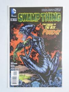 Swamp Thing (5th Series) #9A, 8.0/VF (2012) DC New 52