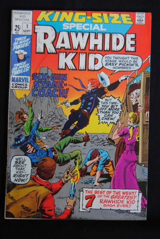 Rawhide Kid. King Size Special #1, Trimpe Cover