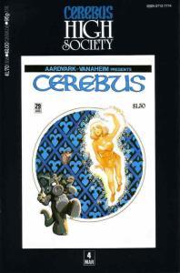 Cerebus High Society #4 FN; Aardvark-Vanaheim | save on shipping - details insid