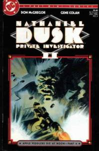 Nathaniel Dusk II #4 VG; DC | low grade comic - save on shipping - details insid