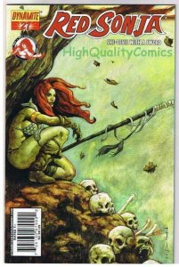RED SONJA #27, NM, Homs, Femme Fatale, Robert Howard, 2005, more RS in store