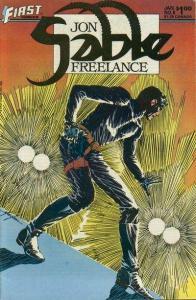 Jon Sable: Freelance #8, VF (Stock photo)