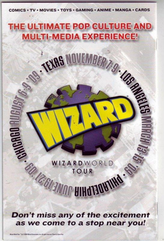 Utimate Origins Wizard Chicago Signed #1 (Aug-08) NM+ Super-High-Grade