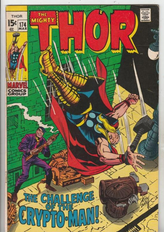 Thor, the Mighty #174 (Mar-70) VG/FN+ Mid-Grade Thor