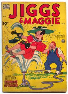 Jiggs and Maggie #15 1950- Bringing Up Father VG-