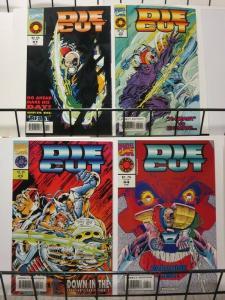DIE CUT 1-4 X-Men's BEAST appearance, complete series!
