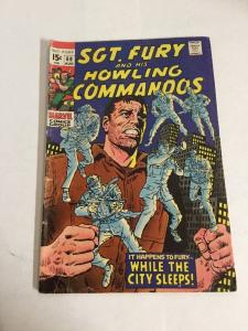 Sgt. Fury And His Howling Commandos 69 Gd+ Good+ 2.5 Silver Age