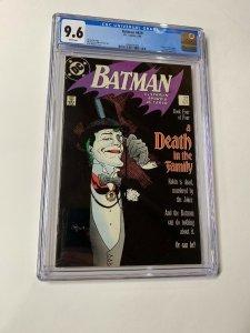 Batman 429 Cgc 9.6 White Pages Dc Comics