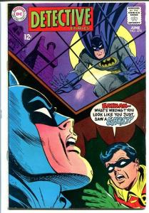 DETECTIVE COMICS #376-BATMAN AND ROBIN! FN