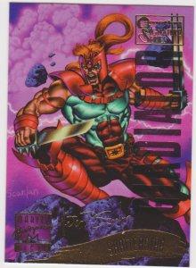 1995 Marvel Masterpieces Emotion Signature Series #144 Shatterstar/Scanlan