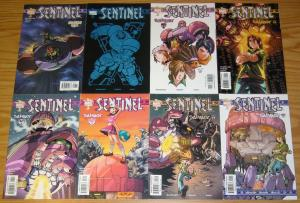 Sentinel #1-12 VF/NM complete series - sean mckeever - udon - marvel tsunami set