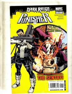Lot Of 12 Punisher Marvel Comic Books # 1 2 3 4 5 6 7 8 9 10 11 12 SpiderMan RP4