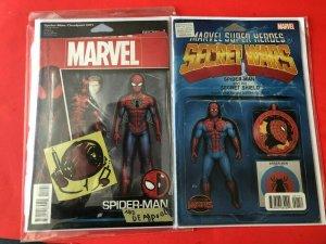 SPIDERMAN/DEADPOOL-001/SUPER HEROES SECRET WARS 001 / HIGH QUALITY