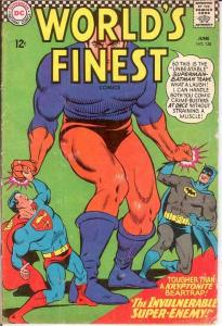 WORLDS FINEST 158 GOOD   June 1966 COMICS BOOK