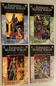 Super-Man Wonder Woman set:#1-4 6.0 FN (1996)
