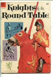 KNIGHTS OF THE ROUND TABLE -OUR COLOR COMICS #540-MGM MOVIE-AVA GARDNER-vg