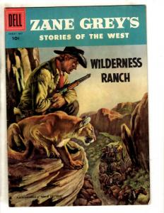 Zane Grey's Stories Of The West # 33 FN/VF 1957 Dell Silver Age Comic Book JL3