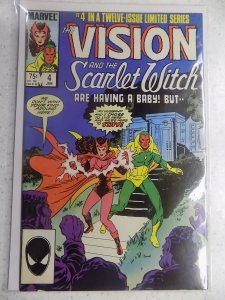 VISION AND SCARLET WITCH # 4