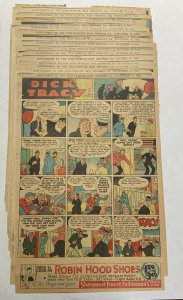 Dick Tracy Newspaper Comics 1933 25 Sunday Strips Good Shape
