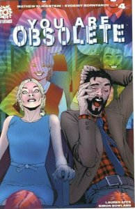 YOU ARE OBSOLETE #4 - AFTERSHOCK COMICS - DECEMBER 2020