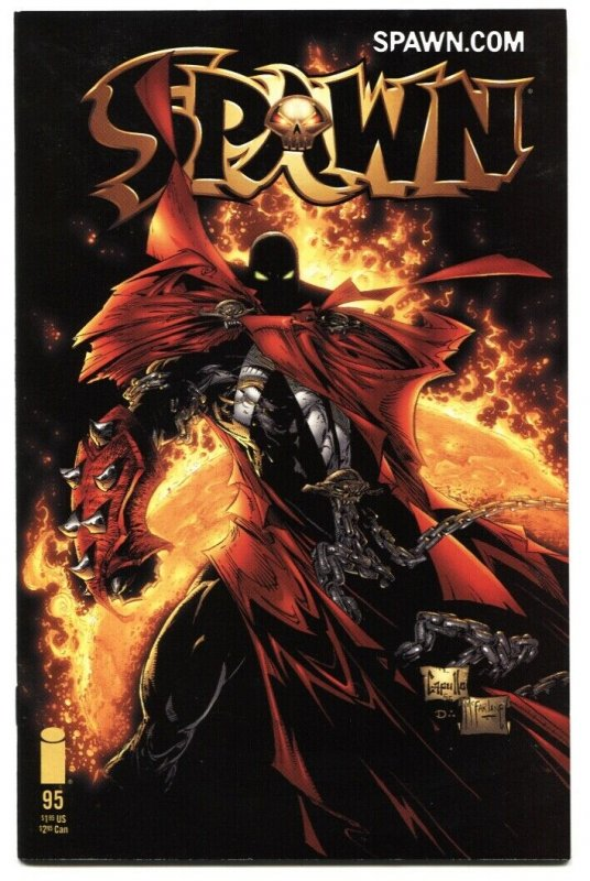 SPAWN #95 2000-1st appearance of Ab and Zab NM-
