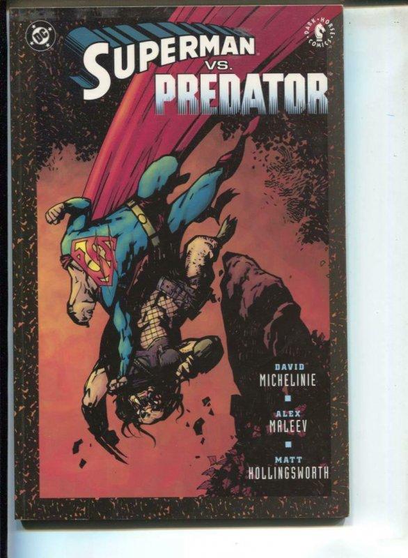 Superman Vs. Predator-David Michelinie-TPB-trade