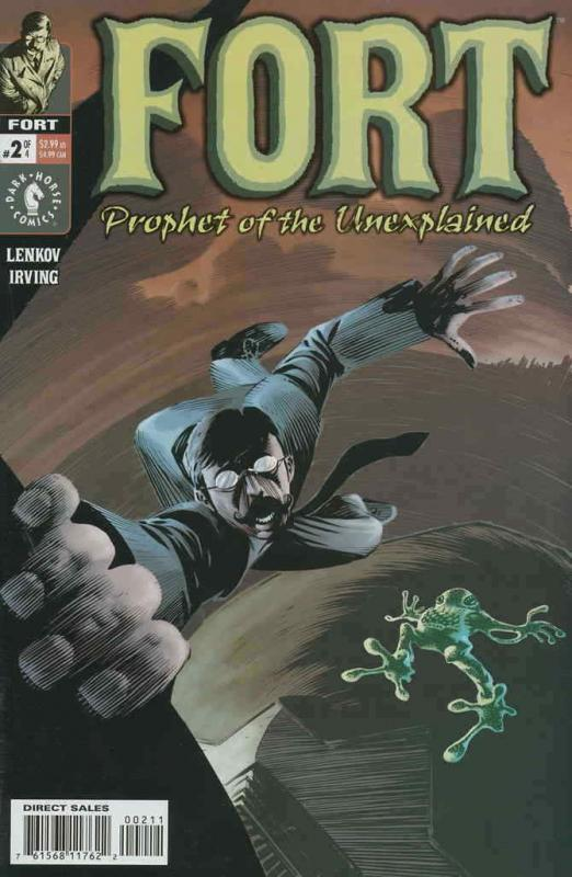 Fort: Prophet of the Unexplained #2 VF/NM; Dark Horse | save on shipping - detai
