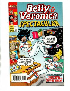 Betty and Veronica Spectacular #18 - astronaut cover - Dan DeCarlo -1996 - VF/NM