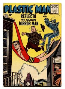 PLASTIC MAN  #63-comic book-Superhero-1956 fn+